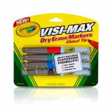 How To Get Crayola Visi Max Dry Erase Chisel Tip Markers