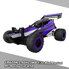 Crazon 1 32 Mini Pocket Rc Racing Car 2 4Ghz 2Wd Rtr Buggy Rc Stunt Car Toy Intl Deal