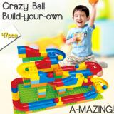 Crazy Happy Ball Building Blocks With Slide Educational Toy In Stock