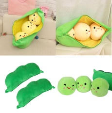 Best Reviews Of Creative Pea Pod Pillow Cute Plush Toys Dolls Soft Baby Toy Birthday Kid Gift Intl