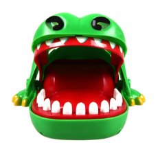 Crocodile Mouth Dentist Bite Finger Toy Large Crocodile Pulling Teeth Bar Games Toys Kids Funny Toy - Intl By Miss Lan.