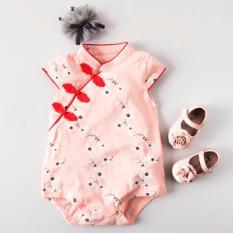 Lowest Price Csr009 New Baby Girls Cny Chinese Cheongsam Romper Qipao