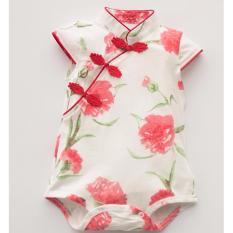 Csr014 New Baby Girls Roses Blossom Cheongsam Qipao Romper Promo Code