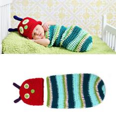 Cute Caterpillar Newborn Baby Boy G*rl Photography Suit Infant Knit Outfit Price