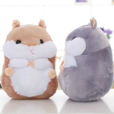 Discount Mimosifolia Cute Thing Fat Hamster Lovely Japanese Totoro Doll Plush Toys Birthday Present Foodie Plush Stuffed Animal Brown 40Cm Intl Mimosifolia