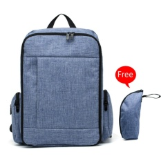 Dad Bags Large Capacity Baby Diaper Bags Mommy Maternity Backpack Blue Violet Intl Promo Code