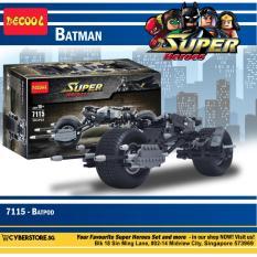 Sale Decool Super Heroes Batpod 7115 Ome Cheap
