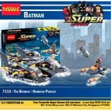 Buy Decool Super Heroes The Batboat Harbour Pursuit 7113 Ome