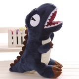 Best Deal Mimosifolia Dinosaur Plush Stuffed Animal Toys Lumbar Cushion Pillow Blue Intl