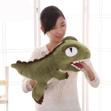 Promo Mimosifolia Dinosaur Plush Stuffed Animal Toys Lumbar Cushion Pillow Green Intl