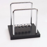 Review Diotem Wooden Base Newton S Cradle Art In Motion Balance Balls Newton Cradle Physics Pendulum Science Wave Office Classic Toy Silver Black M Intl On China
