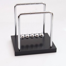 Best Reviews Of Diotem Wooden Base Newton S Cradle Art In Motion Balance Balls Newton Cradle Physics Pendulum Science Wave Office Classic Toy Silver Black M Intl