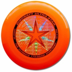 Discraft Ultra-Star Ultimate Frisbee ( Orange) By Aqua And Leisure Sports.