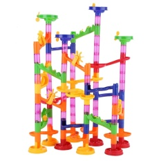 Diy Construction Marble Race Run Maze Balls Track Building Baby Gift Educational Toy Intl On Line