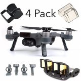 Sale Dji Spark Accessories Set Bundle Combo Lens Cap Hood Sun Shade Camera Cover Protector Landing Gear Antenna Range Booster 4 Pack Intl Oem Cheap