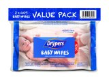 Best Rated Drypers Baby Wet Wipes 40S 24 Packs