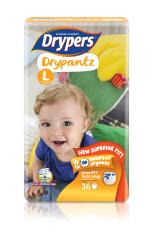 Discount Drypers Drypantz L 36S X 4 Packs 9 14Kg 144Pcs Box Singapore
