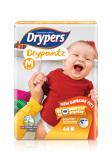 Sale Drypers Drypantz M 44S X 4 Packs 7 12Kg 176Pcs Box Drypers Original