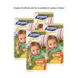 Price Comparisons Drypers Drypantz Xl32 X 4 Packs