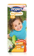 Drypers Drypantz XXL 28s x 4 packs (15 - 25kg) 112pcs/box