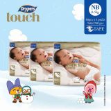 Where To Buy Drypers Touch Nb 80S X 3 Packs 5Kg 240Pcs Box