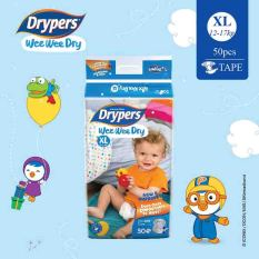 How Do I Get Drypers Wee Wee Dry Xl 50S X 1 Pack 12 17Kg