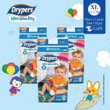 Drypers Wee Wee Dry Xl 50S X 3 Packs 12 17Kg 150 Pcs Box Price Comparison
