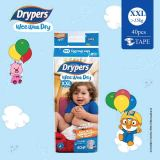 Lowest Price Drypers Wee Wee Dry Xxl 40S X 1 Pack 15 Kg Above