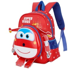 Latest Dtx131 Cartoon Children Bag Primary Sch**l Students Kindergarten Backpack 3 6 Year Old Student Backpack Super Wings Blue Red And Rose Red Intl