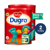 Cheapest Dumex Dugro Regular Step 3 Baby Milk Formula 1 6Kg 2 Tins Online