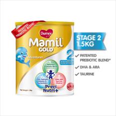[FREE 400g tin] Dumex Mamil Gold, Step 2  Baby Milk Formula (1.5kg)