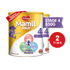 Dumex Mamil Gold Step 4 Children S Milk Formula 850G 2 Tins Deal