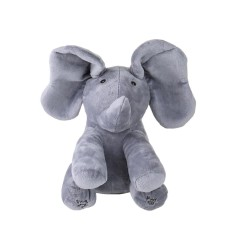 Electric Adorable Small Elephant Animated Flappy Push Doll Kids Present - Intl By Tomnet.