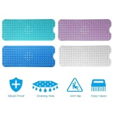 Sale Extra Large Bath Tub Mat Anti Slip Long Non Skid Protection Safety Shower Pad Intl China