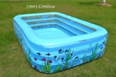 Sale Family Children S Inflatable Pool Infant Swimming Pool Ball Basin Family Swimming Pool Children Dabble Paddle Intl China