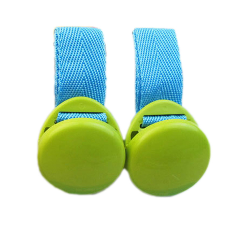 Fancyqube Fashion Baby Stroller Accessories Baby Stroller Clip Safest Security Blanket Clip Light Green Singapore