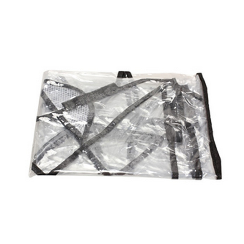 Fancyqube Universal Baby Stroller Rain Cover Transparent Carriage Waterproof Cover Singapore