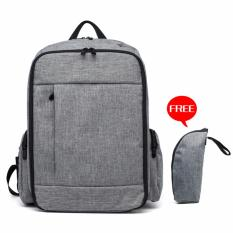Price Fashion Baby Diaper Bags For Mom Backpack (Grey) Jf Online