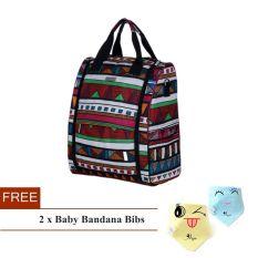 Fashion Dual Use Baby Diaper Bag Tote Bag Backpack Mummy Bag Bohemia Deal
