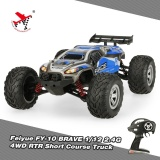 Sale Feiyue Fy 10 Brave 1 12 2 4G 4Wd 30Km H High Speed Electric Power Cross Country Rtr Short Course Truck Rc Car Intl Online Hong Kong Sar China