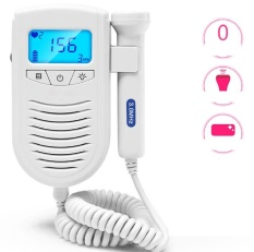 Fetal Heart Monitor Home Pregnant Women Without Radiation Doppler Monitoring Of Fetal Movement Measuring Fetal Stethoscope Intl Compare Prices