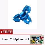 Get Cheap Fg02A 3D Fidget Hand Gyro Finger Spinner Edc Focus Stress Reducer Intl