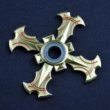 Fidget Toys Naruto Fidget Spinner Ring Hand Bearing Rotating Darts Alloy Tri Spinner Intl Reviews