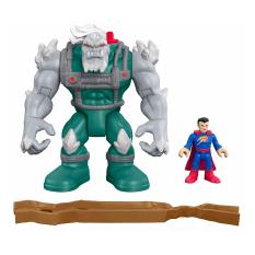 Best Price Fisher Price Imaginext Dc Super Friends Doomsday And Superman