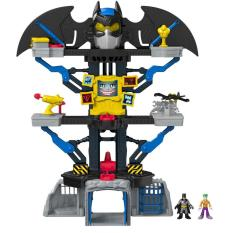 Compare Prices For Fisher Price Imaginext Dc Super Friends Transforming Batcave Intl