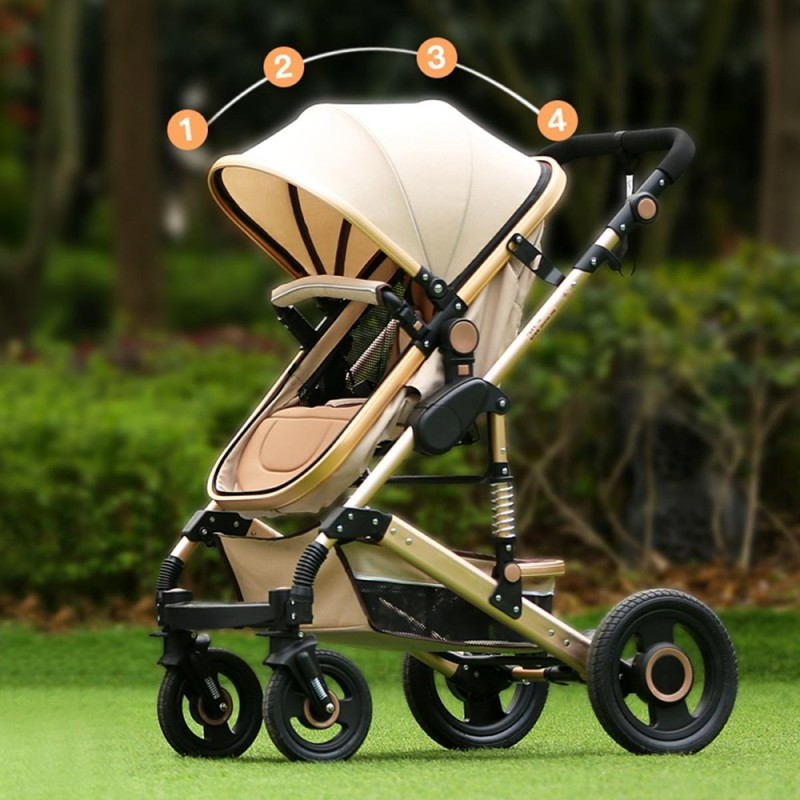 Foldable Newborn Baby Stroller Buggy Pram Pushchair Carriage Infant Travel Car - intl Singapore