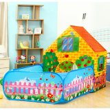 Free 10 Balls Large Space Portable Kids Play Tent Secret Garden Playhouse Castle Intl Lower Price