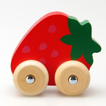 Fruit House Car Toy Wooden Blocks Toys 1 2 Years Old 3 6 Years Old