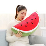 Price Fruit Watermelon Cushion Throw Fight Pillow Cute Plush Toys Birthday Gift 45Cm Semicircle Intl Not Specified
