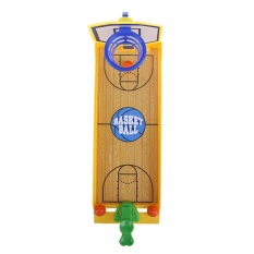 Funny Desktop Toy Finger Shooting Basketball Court Children Toy Gifts - Intl By Welcomehome.